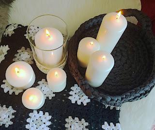 Las velas representan muy bien al elemento fuego.