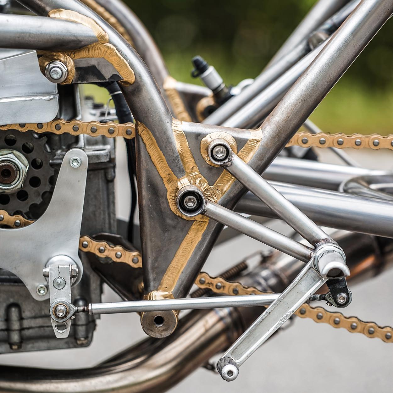 Blog of the Biker 🏍: Bare Minimum Brazed Frame GSXR Racer Wins the ...
