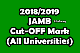 Updates on JAMB National Admission Cutoff Mark Announcement Date for 2018/2019