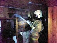 (ФОТО)Пожар по улице Мичурина