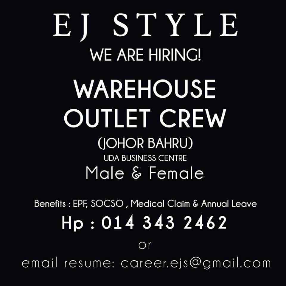Warehouse outlet crew EJ Style