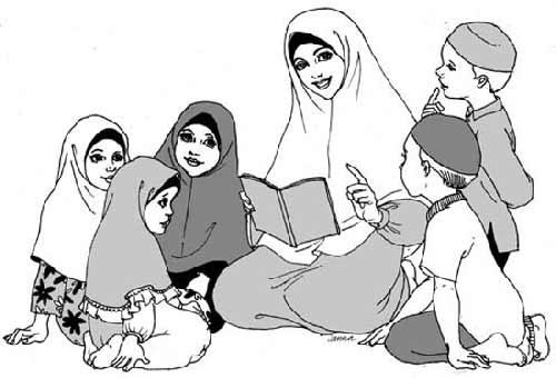 peran ibu dalam mendidik anak menurut islam