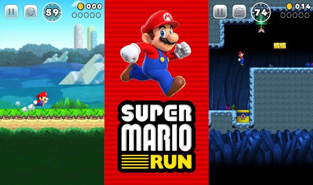 Super Mario Run, primeiro game para celulares do encanador bigodudo Mario, foi lançado para iPhones nesta quinta-feira (15)