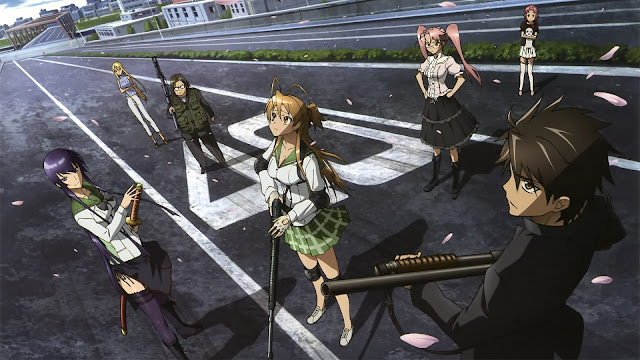 Download Anime Batch Highschool of the Dead BD (Episode 01 – 12) Sub Indo + OVA
