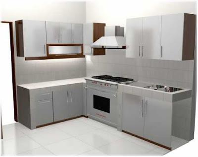 Dapur minimalis ukuran 2x3 meter