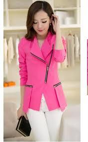Model Blazer Wanita Style Korea Terbaru