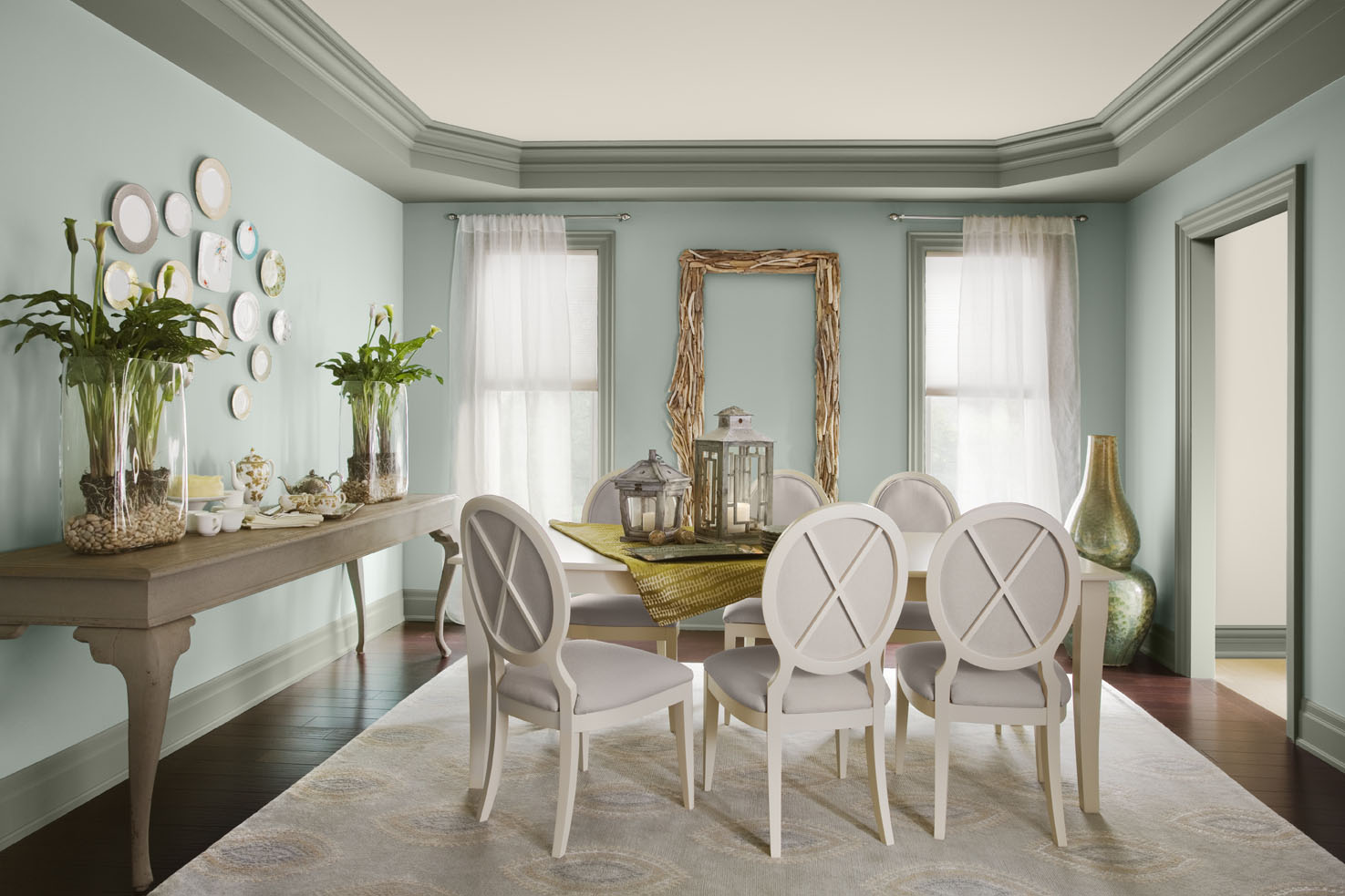 part 1 of 2012 paint colour trends series wythe blue setting for four