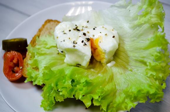 Huevo Pochado En Microondas