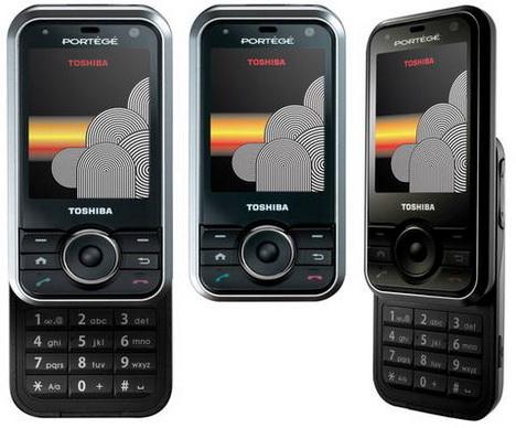 Toshiba G500 Ponsel Pertama yang Menggunakan Fingerprint Scanner