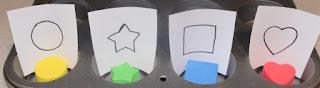 toddler activity shape matching