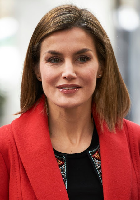 Queen Letizia Visited Nino Jesus University Children's Hospital