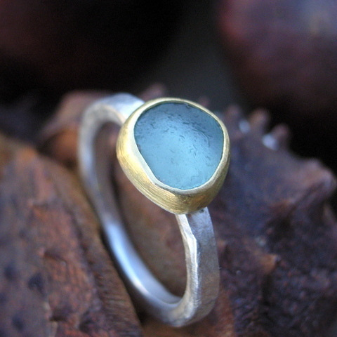 The Glasswing Jewellery Blog Ethical wedding rings and sea glass