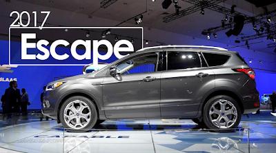 2017 Ford Escape Manual Guide