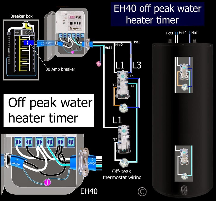 Electric Work How To Figure Volts Amps Watts For Residential Water Heater