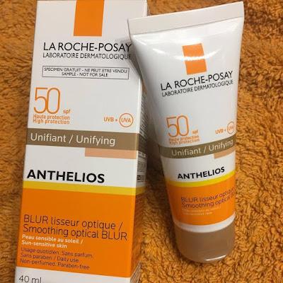 protector solar, crema con color, la roche posay, anthelios, alisador optico, pieles sensibles, spf 50,