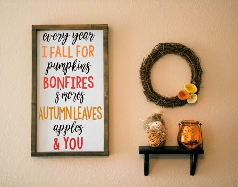 Popular Another autumn decor item I simply cannot get enough of are these rustic fall signs Sometimes it us hard to know what to do with the cute little pumpkins