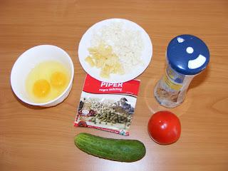 Ingrediente omleta reteta,