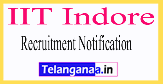 IIT Indore Recruitment Notification