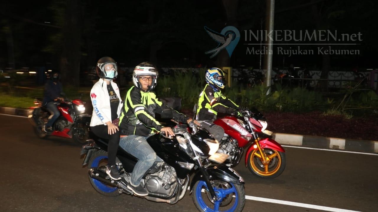 Suzuki Special Day, Ratusan Bikers  Kompak Riding Malam Hari