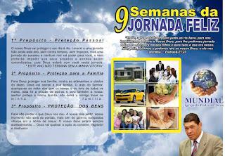 pasta,9,semanas,jornada,feliz,impd,igreja,mundial,poder,de,deus,apóstolo,Valdemiro,Santiago,folhetos