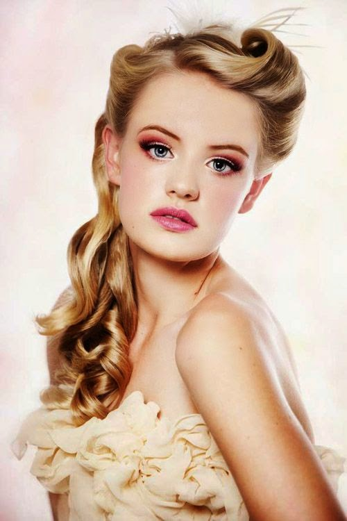 Vintage Hairstyles: Vintage Hairstyles for Prom Party