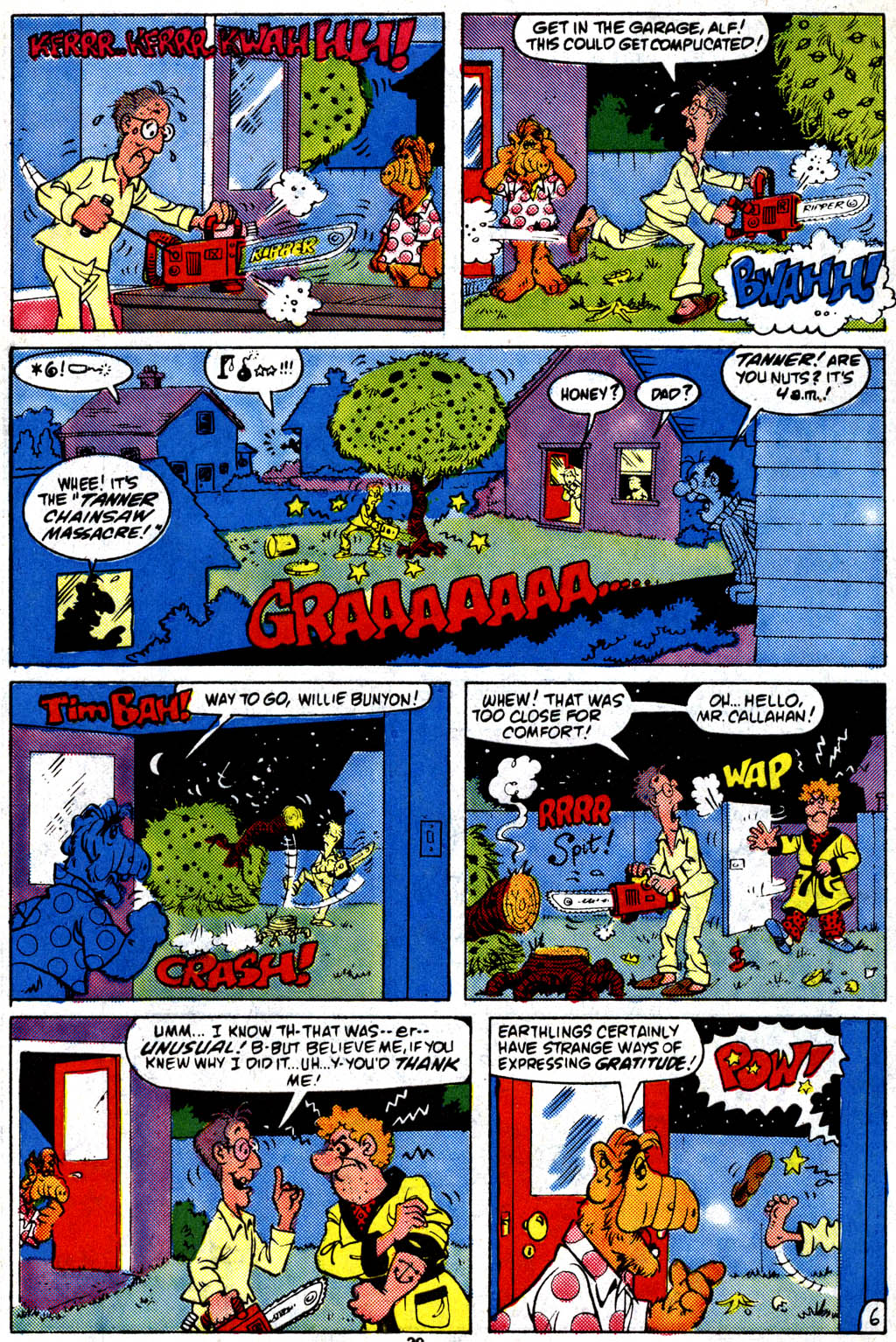 Read online ALF comic -  Issue #9 - 23