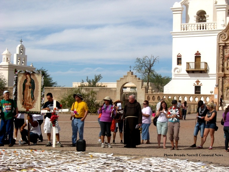 CENSORED NEWS: From Tucson to San Xavier, walkers remember ...