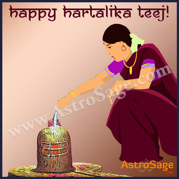 Hartalika Teej is the festival dedicated to women for the longer life of their husband
