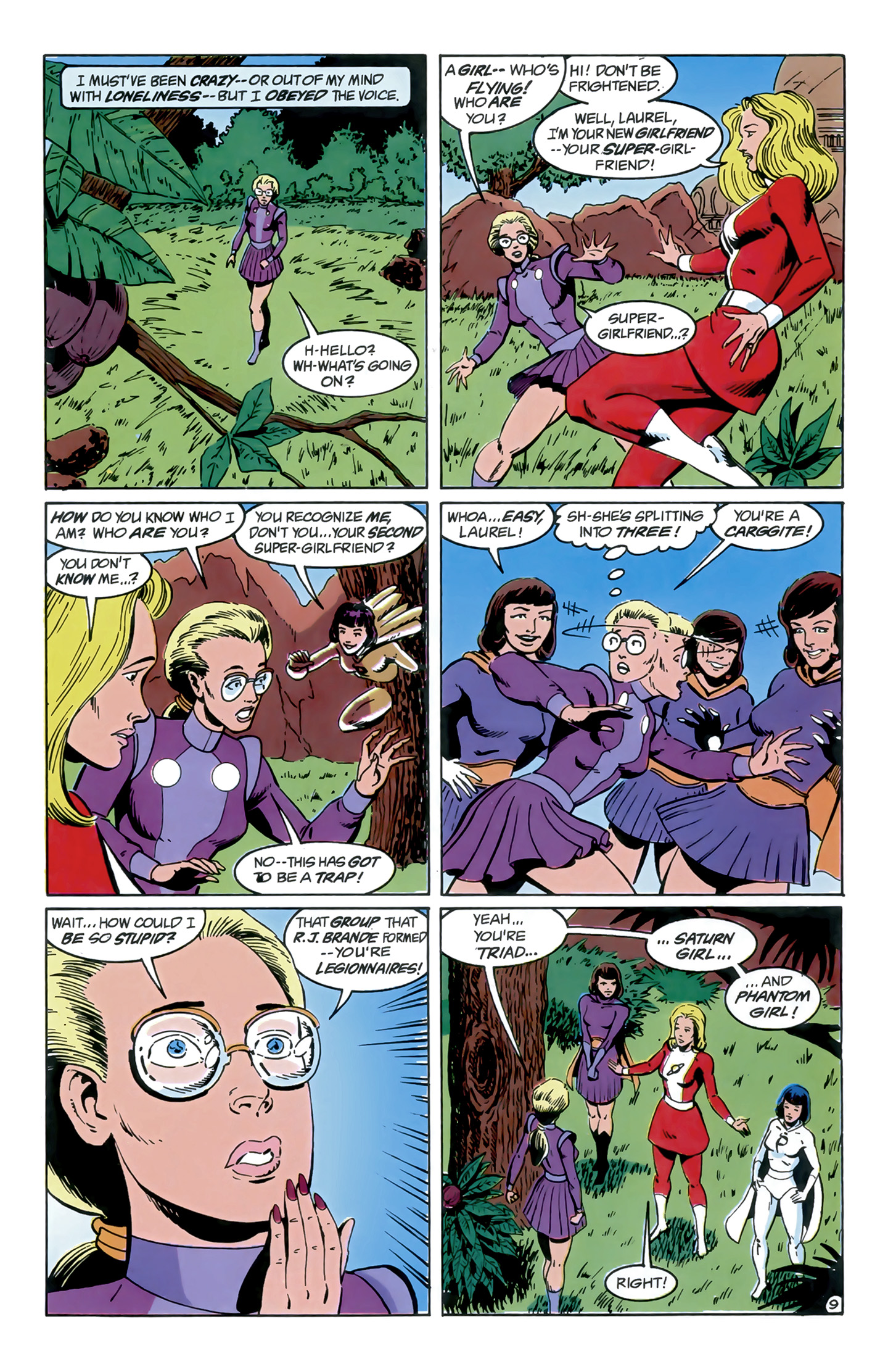 Legion of Super-Heroes (1989) 9 Page 9