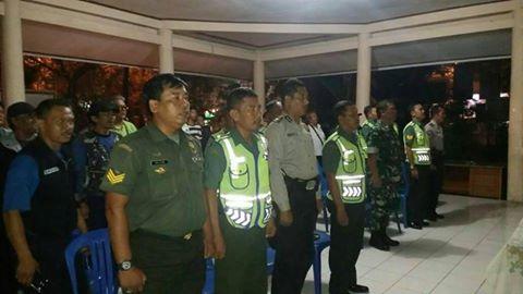 Jelang Lebaran, Koramil 03/Sukmajaya Tingkatkan Patroli Bersama Tiga Pilar