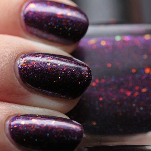 Wildflower Lacquer Horrific Harlequins