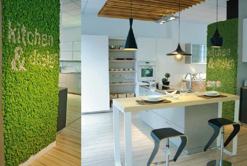 Muschi licheni e verde stabilizzato per decorare la casa for Oggetti decorativi casa