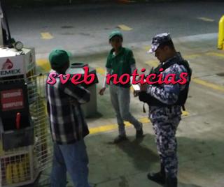 Asaltan gasolinera en la colonia Amapolas en el puerto de Veracruz