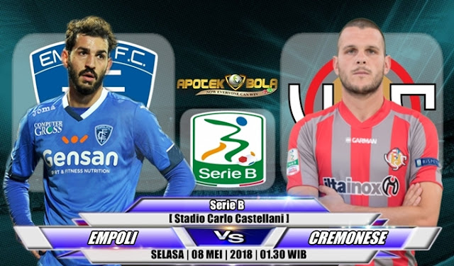 Prediksi Empoli vs Cremonese 8 Mei 2018