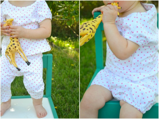 How to Upcycle: Baby Cap Sleeve Tee Neckline // DIY Sew