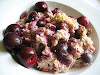 Baked Cherry Oatmeal Pudding