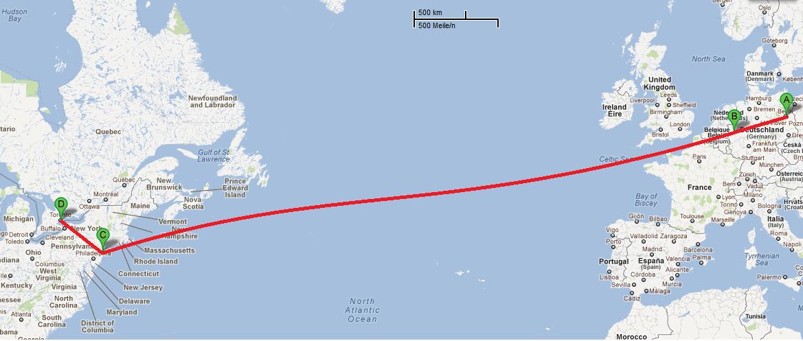 Toronto To Kitchener Km