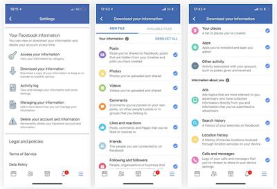 Cara Download Semua Data Anda dari Aplikasi Android & iPhone, begini caranya