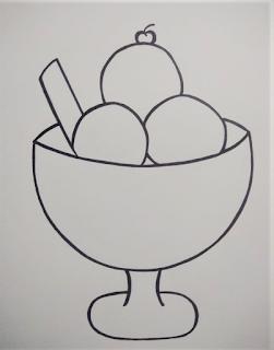 Ice Cream Mandala art