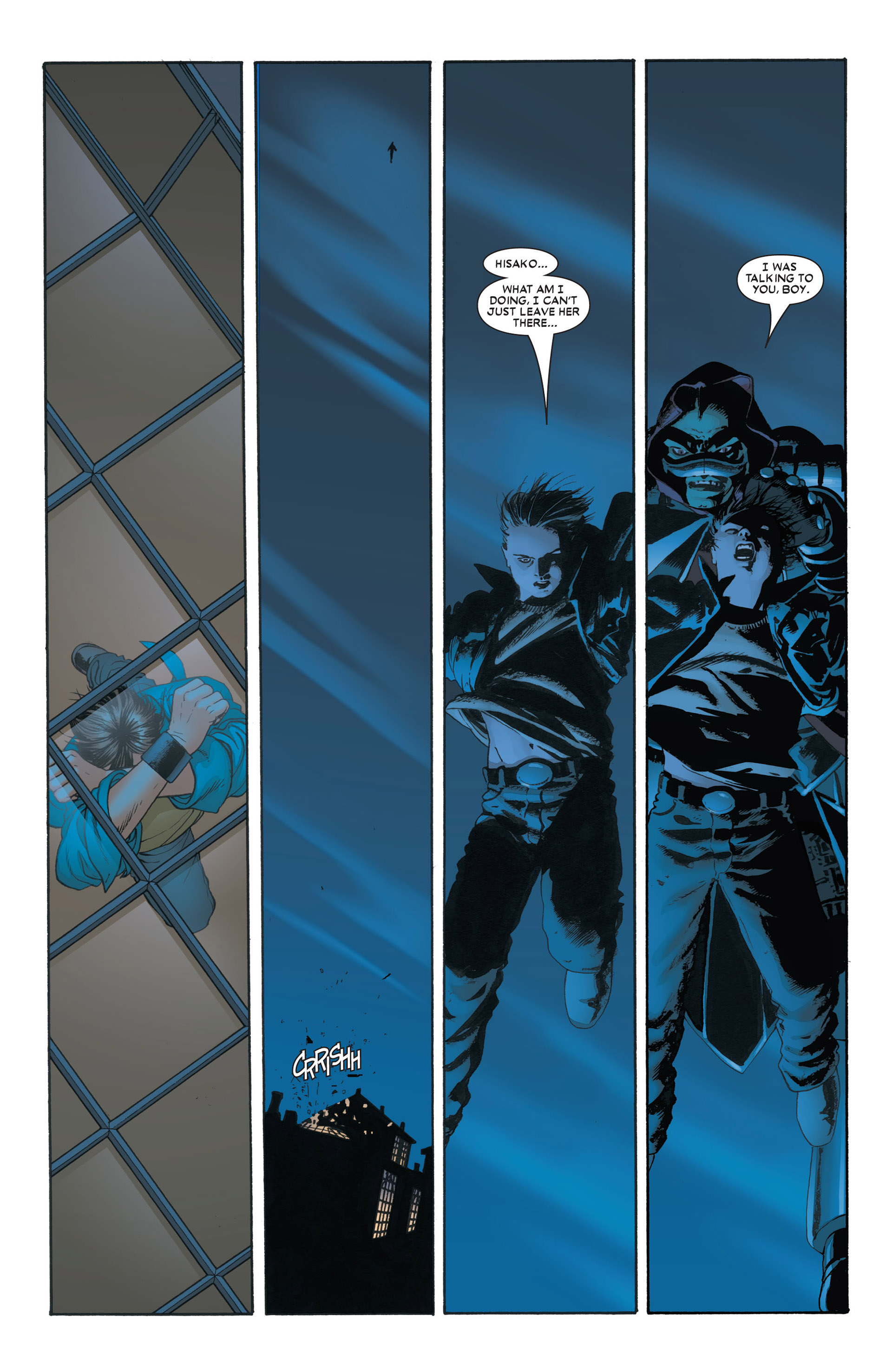 Read online Astonishing X-Men (2004) comic -  Issue #4 - 13