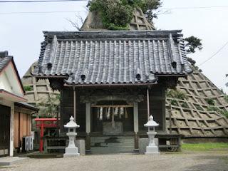 竜島海岸・神明神社