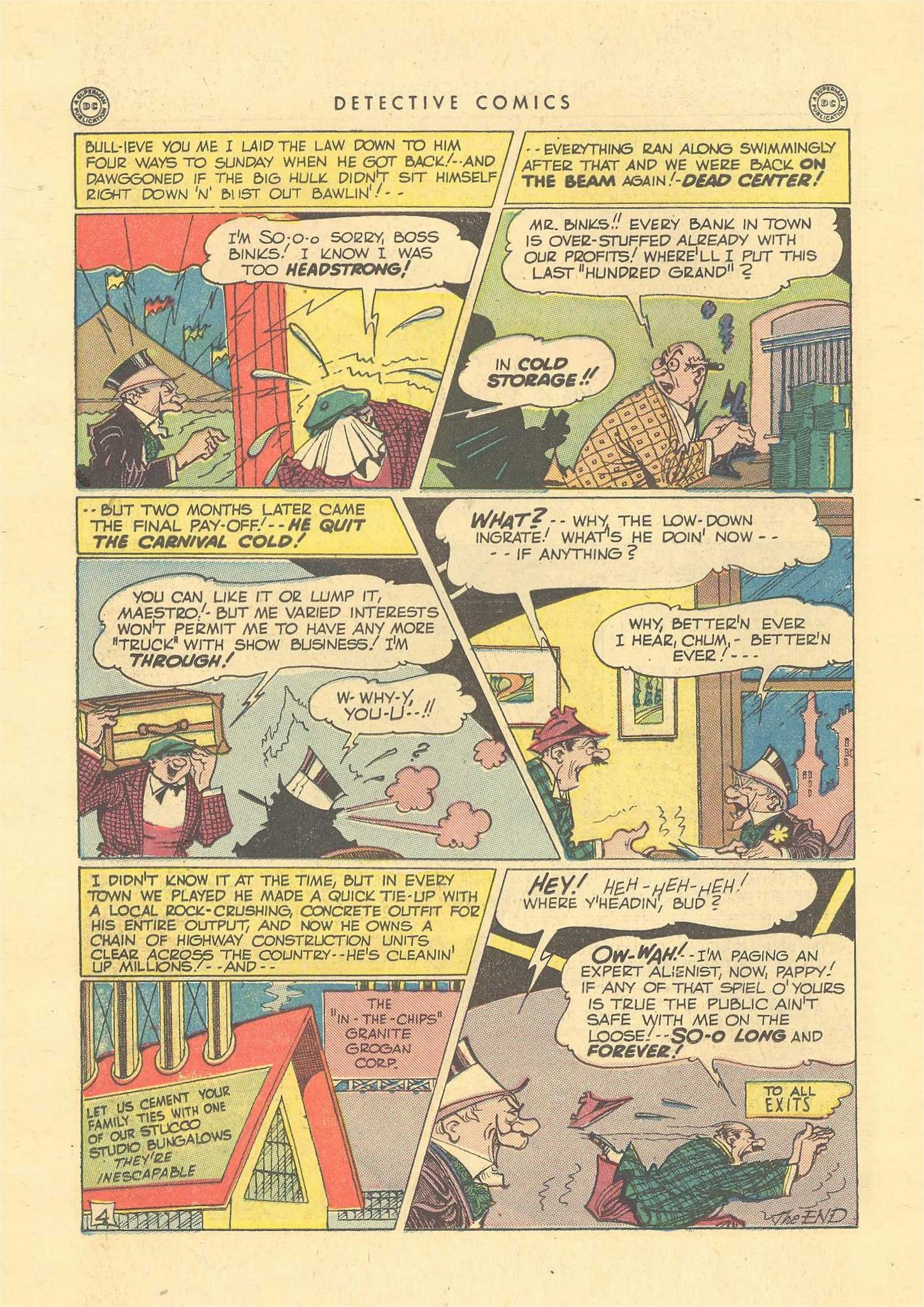 Read online Detective Comics (1937) comic -  Issue #109 - 36