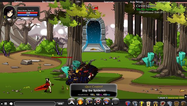 SomeOnlyClub Ravenloss Rep Bot AQW