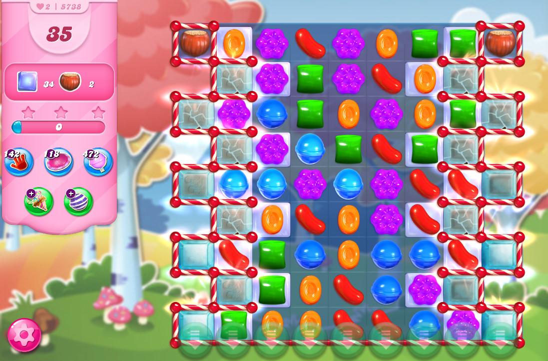 Candy Crush Saga level 5738
