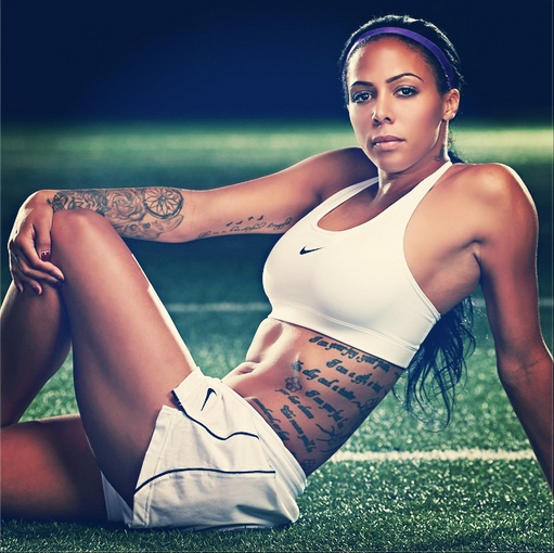 Football Club Babes - Sydney Leroux (Gallery) | FOOTY FAIR