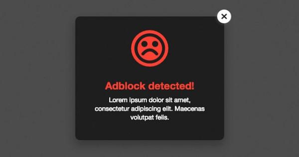 AdBlock Detector