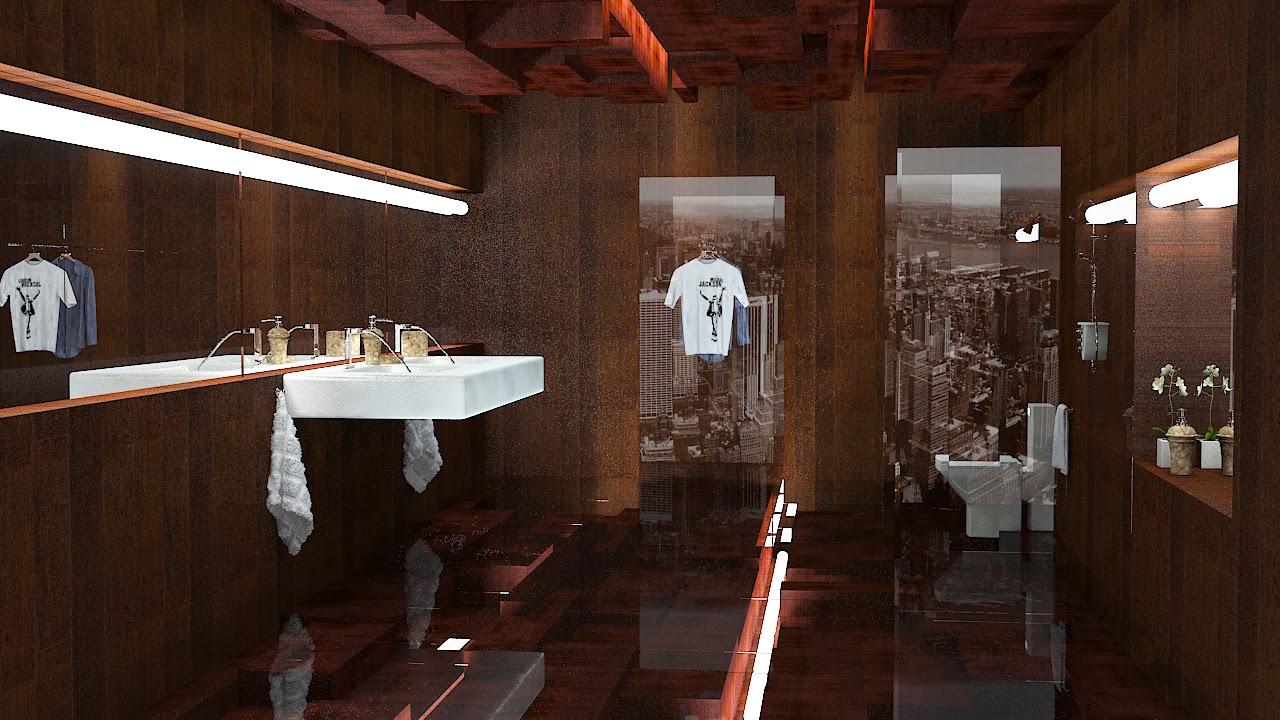 3D Bathroom Concept