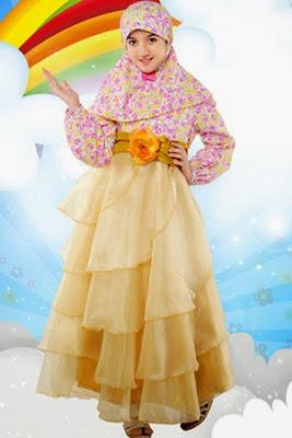 Model Terbaru Baju Lebaran  Anak Perempuan Dan Apik