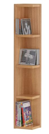 Virgo DVD/CD Shelf Unit From Argos