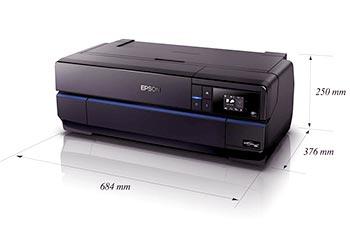 Epson SureColor P800 Inkjet Printer size